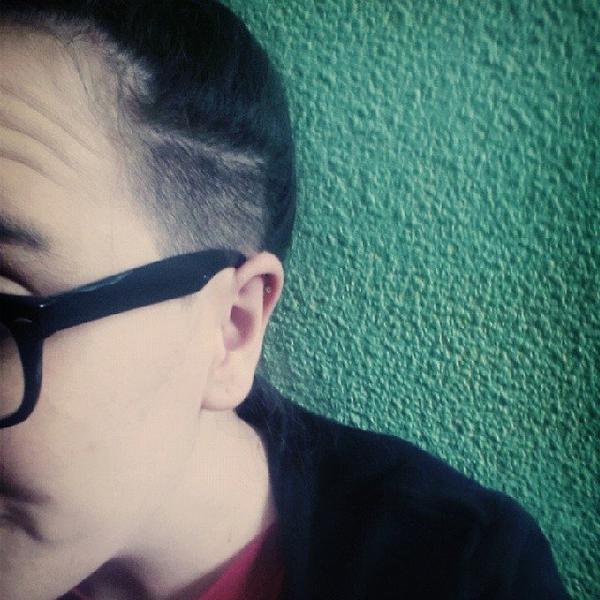 Je me suis coupé les cheveux