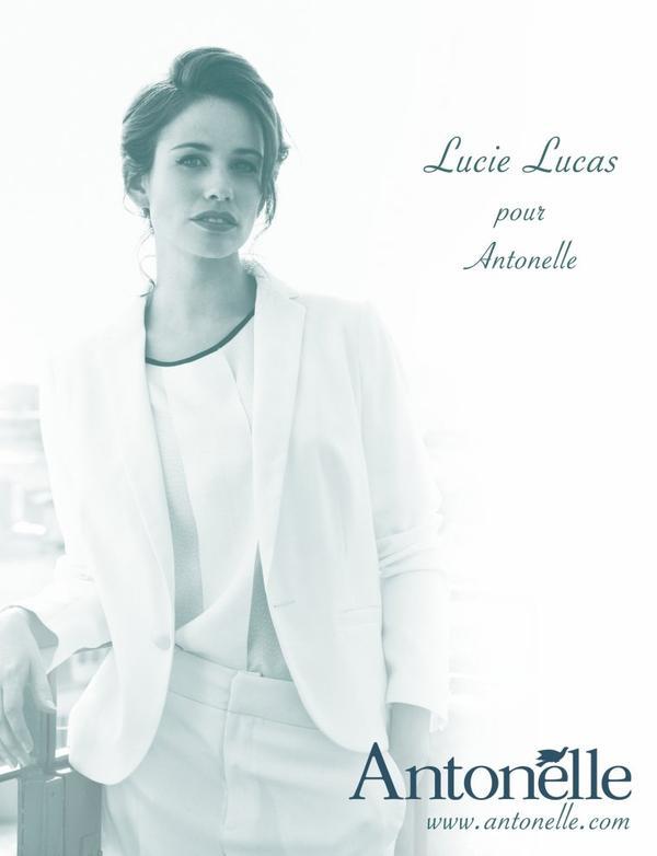 Lucie Lucas chez Antonelle