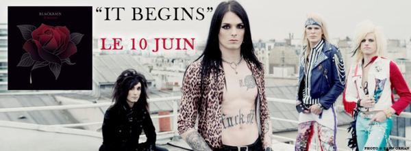 It Begins est le 4e album de Blackrain