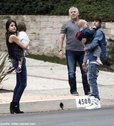 Le 18 février Justin & Selena était apreçu dans Malibou