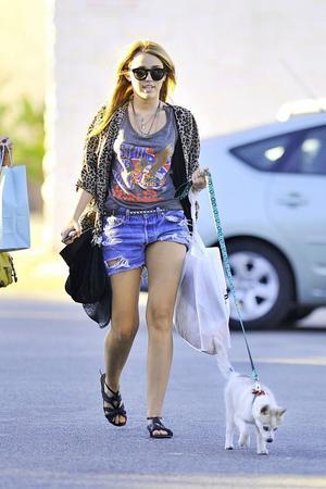 Tenue de Miley