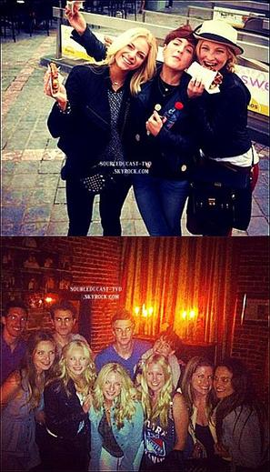 Le mardi 7 mai,Nina a été vu en train de quitter son hôtel à New York.