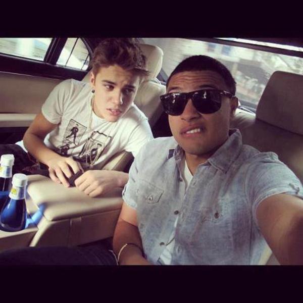 JUstin Bieber et Alfredo Flores