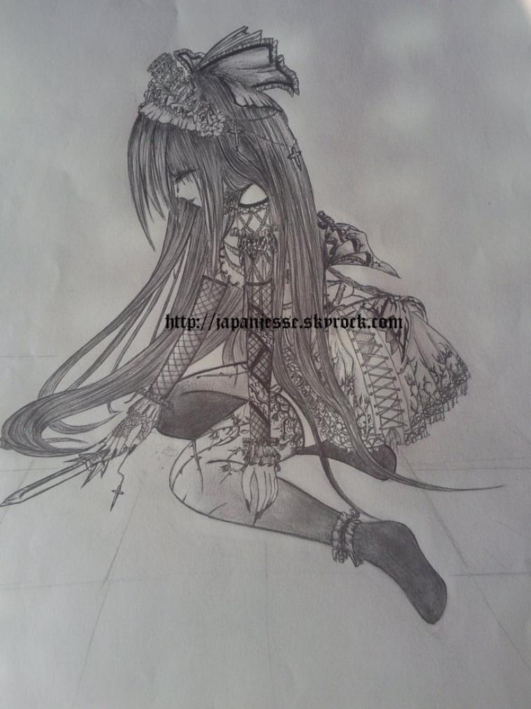 Gothique lolita triste