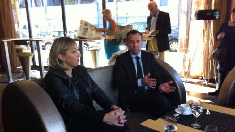 Nantes : un ticket Montchamp-Hunault pour l'élection municipale de 2014 - pays-de-la-loire.france3.fr