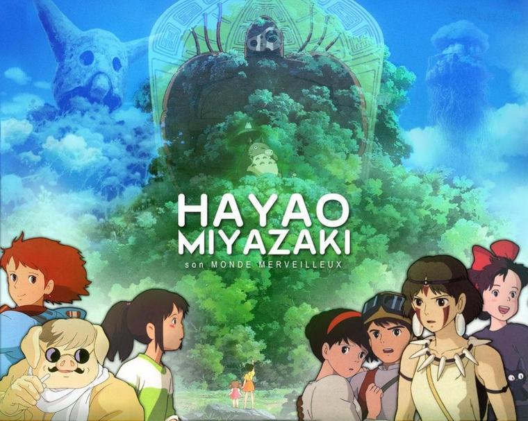 musique de plusieurs film d'Hayao Miyazaki
