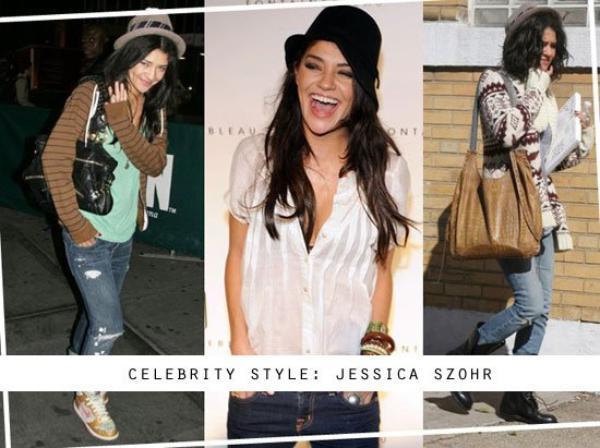 Article Spécial Vacances : Les tops looks de Jessica Szohr