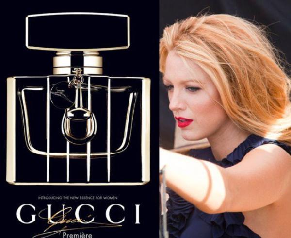 Blake Lively égérie du nouveau parfum Gucci