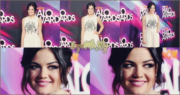 17 Novembre  2012 Lucy étais présente au Nick Halo Awards ! La belle fait Un énorme Top.