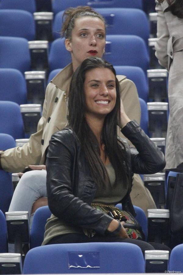 Ludivine Sagna au match France - Espagne