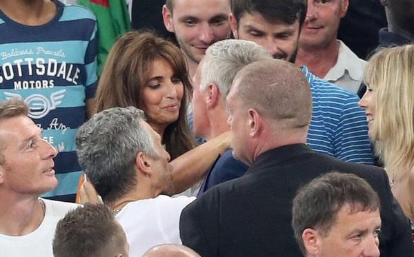 Claude & Didier Deschamps au Vélodrome pour France - Allemagne