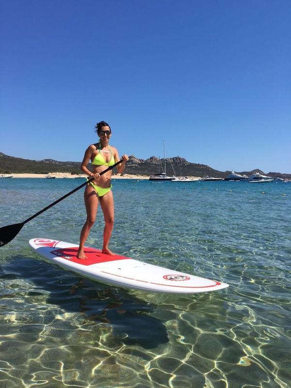 Jennifer & Olivier Giroud en vacances!