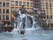 fontaine gelée