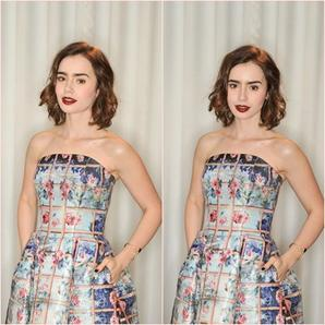 Le 14 Février 2014 On la retrouve au pré BAFTA Edition pour Lancome à Londres, pour l'occasion elle portais une sublime robe de chez Mary Katrantzou .
