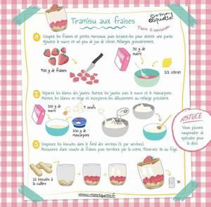 Tiramisu aux fraises.