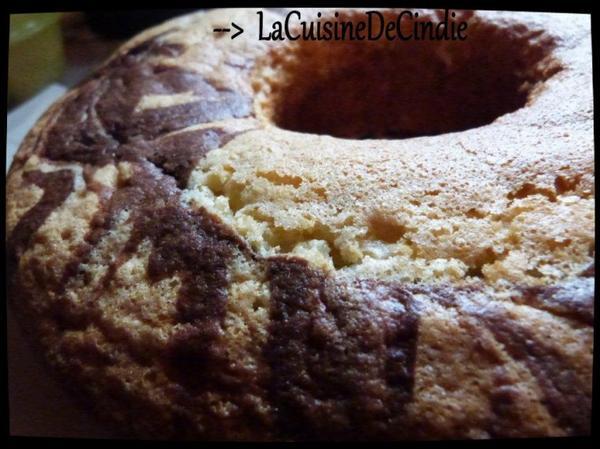 Gâteau Marbré au Yahourt