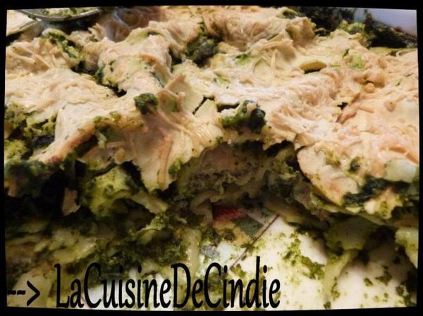 Lasagne Saumon Epinards