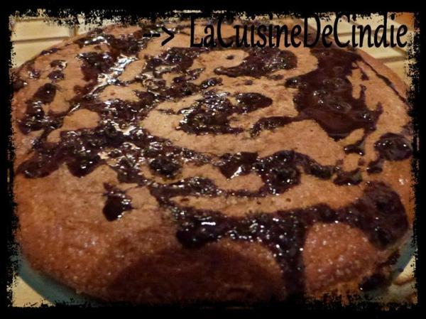 Gâteau au Yahourt et à la Pâte à tartinée