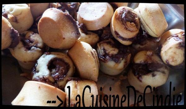 Muffins à la Pâte à tartinée