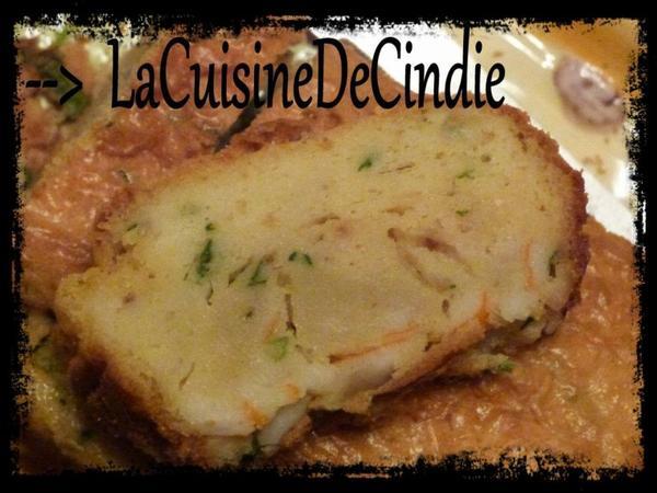Cake Surimi et Ciboulette