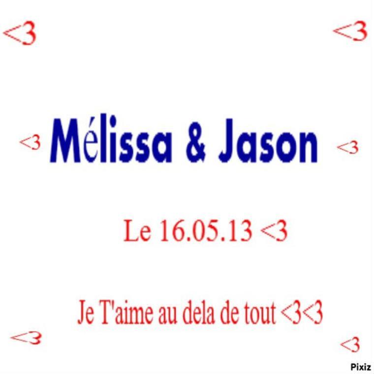 Melissa & Jason<3<3