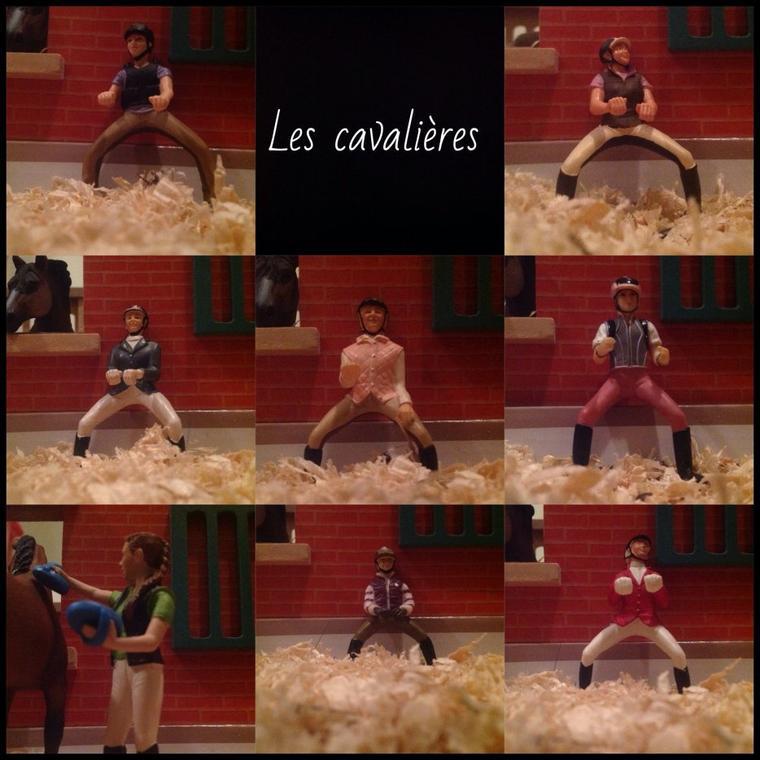 ~  Les cavalières  ~