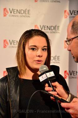 Youna était présente aux Internationaux