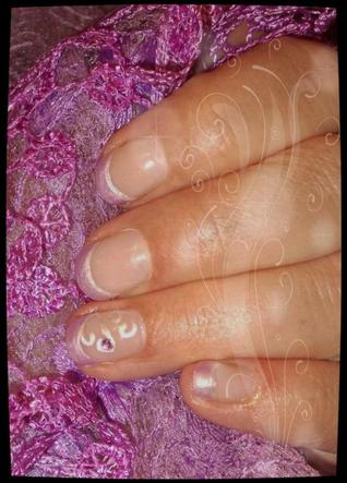 AVANT/ APRES Pose sur ongles naturels