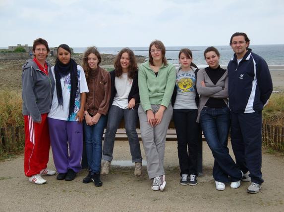 Nostalgie - Saison 2008/2009 : Les Cadettes à Guidel.