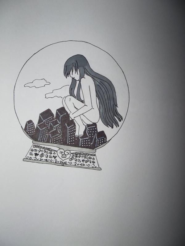 dessin pour le concours de my universe of drawing