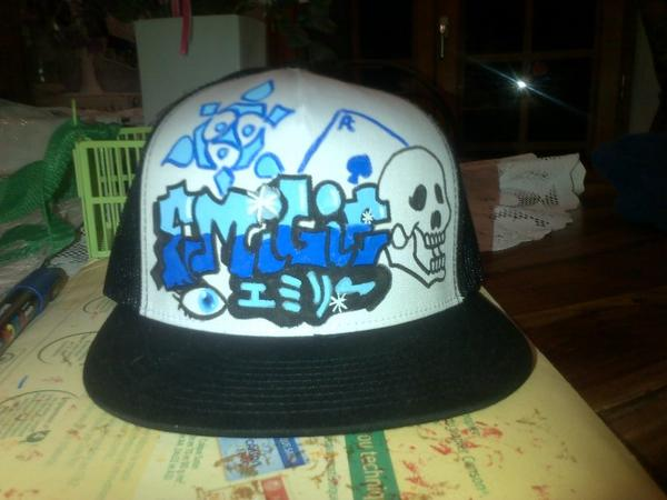 casquette customisee