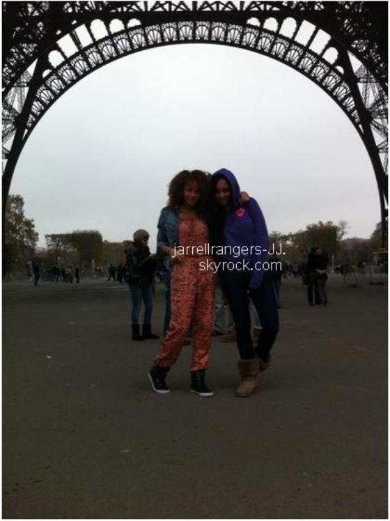 Jessica Jarrell & Mz Bratt à Paris. 11/11/11