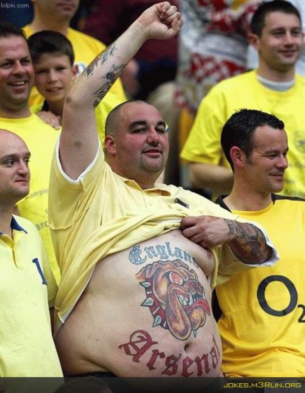 Tatouages de Supporters