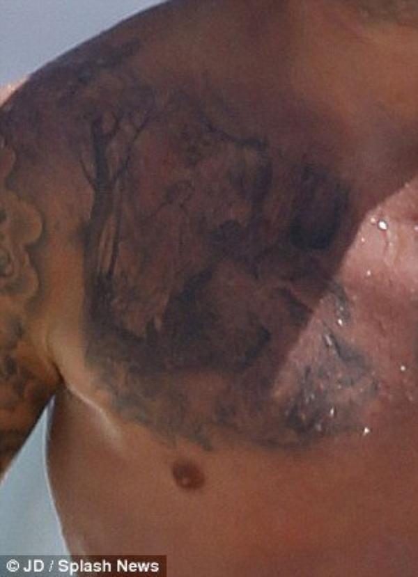 Nouveaux Tatouages (David Beckham)