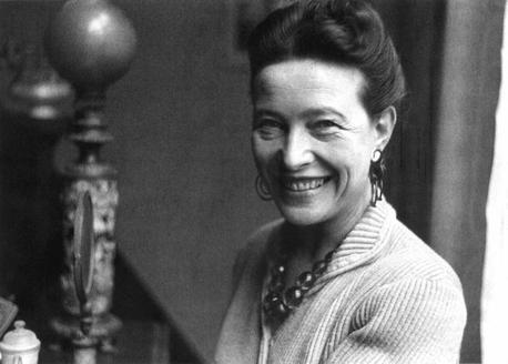 Hommage à Simone de Beauvoir   (1908-1986)    née le 9 janvier 1908