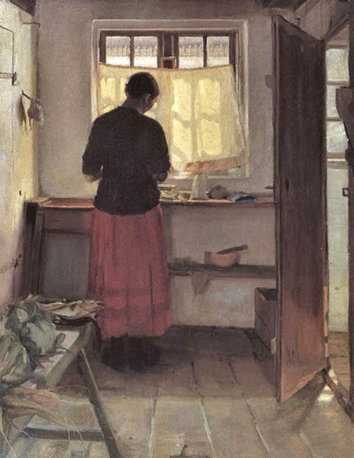 Hommage à Anna Ancher  disparue le 15 avril 1935   (1859-1935)