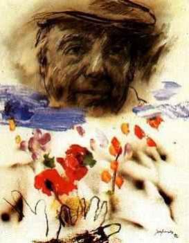 Hommage à Pablo Neruda, poète chilien  né le 12 juillet 1904   (1904-1973)