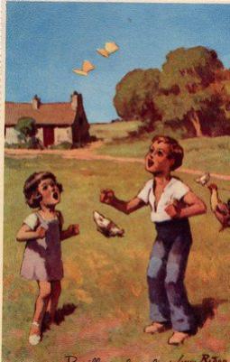 """Extrait de ma collection de cartes postales anciennes """"Enfance"""" (à suivre)"""