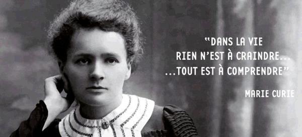 Hommage à Marie Curie née le 7 novembre 1867   (1867-1934)