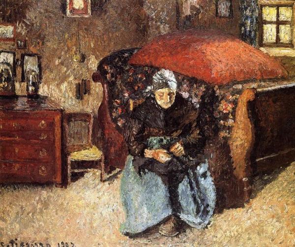 Hommage à Camille Pissarro mort le 13 novembre 1903  (1830-1903)
