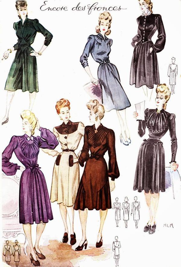 La mode en 1943