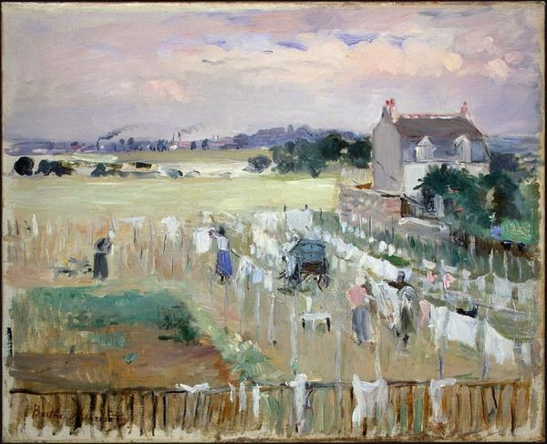 Hommage à Berthe Morisot disparue le 2 mars 1895   (1841-1895)