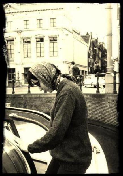 Amsterdam   Août 1966  Moi