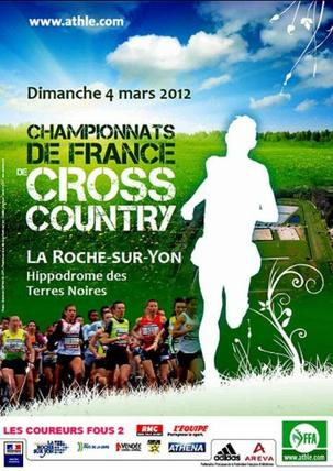 Championnats de France de Cross le 4 Mars !!