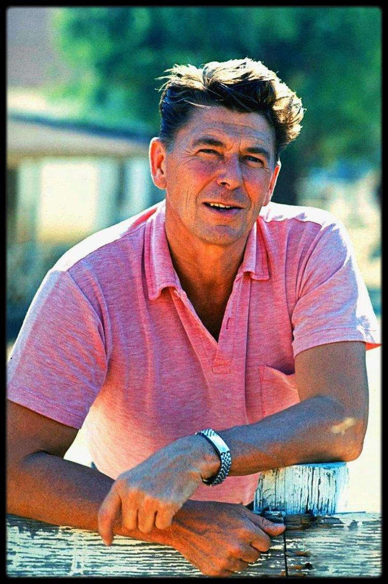 (1965) Ronald REAGAN by Bill RAY
