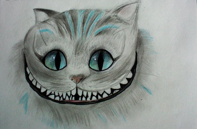 Le Chat Alice Au Pays Des Merveilles Un Verbe Compte Dessiner