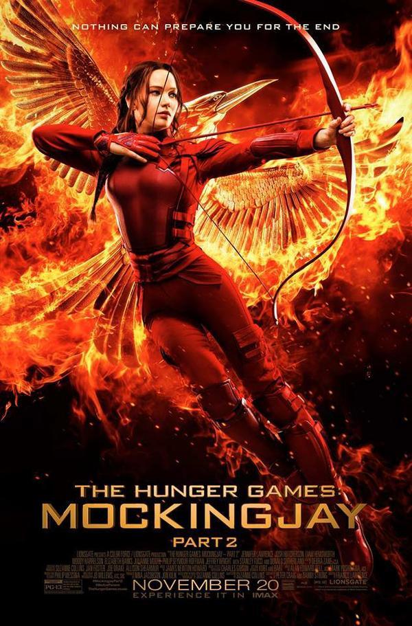 Poster officiel de Hunger GAmes : la révolte part 2 .. Il ést pas mal :)