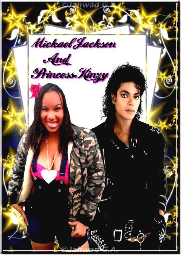 Jackson Micheal and Princess Kinzy