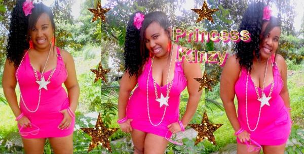 Rose makes Barbie, I love it!  Princess Kinzy Pink Baltimore