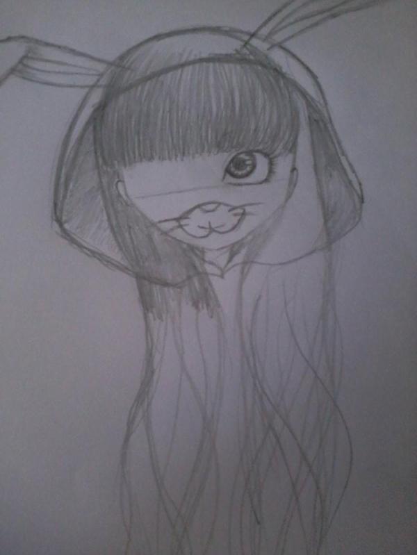 Début d'un dessin de doll 3